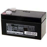EMOS Wartungsfreie Blei-Säure Batterie 12 V/1,3 Ah, 4,7 mm Faston-Klemme - Akku