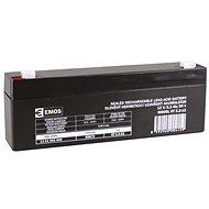 EMOS Wartungsfreie Blei-Säure Batterie 12 V/2,2 Ah, 4,7 mm Faston-Klemme - Akku