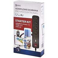 Überspannungsschutz EMOS Starter Kit - Überspannungsschutz, Reinigungsset, HDMI 1.4