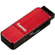 Hama USB 3.0 Kartenlesegerät rot - Kartenleser