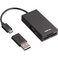 Hama USB 2.0 OTG - Kartenleser
