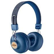 House of Marley Positive Vibration 2 wireless - Denimfarben - Kabellose Kopfhörer