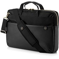 "HP Pavilion Accent Briefcase Black/Gold 15.6"" - Laptop-Tasche"
