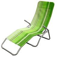 Happy Green Strandmatte grünen Streifen - Liege