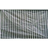 Vetro-Plus Seitenwand zum Gartenpavillon mit weiß-grünen Streifen, ohne Fenster - Seitenwand