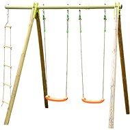 Swing 2 Sitze + Strickleiter - Kinderspielplatz