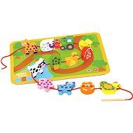 Bino Fädelspiel Tiere - Didaktisches Spielzeug