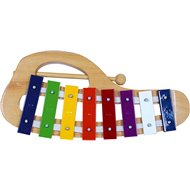 Bino gebogenes Xylophon - Musikspielzeug