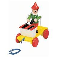 Bino Pinocchio zum Nachziehen mit Xylofon - Nachziehspielzeug