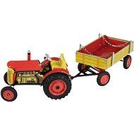 Kovap Traktor und Anhänger - Metall-Model