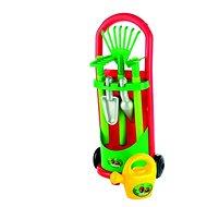 Spielset Wagen mit Gartengeräten und Krug - Spielset