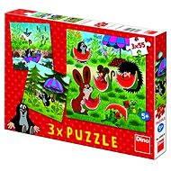 Dino Der kleine Maulwurf und der Regenschirm - Puzzle
