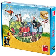 Bild-Würfel Der kleine Maulwurf und Transportmittel - 12 Holzwürfel - Obrázkové kostky