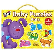 GALT Puzzle für Kleinkinder - Haustiere - Puzzle