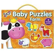 GALT Puzzle für die Kleinsten - Tiere auf dem Bauernhof - Puzzle