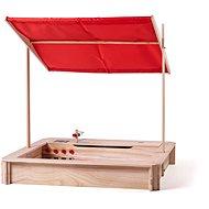 Woody Holzsandkasten mit Küche und Dach - Sandkasten