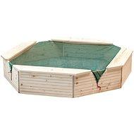 Woody Sandkasten aus Holz - Sandkasten