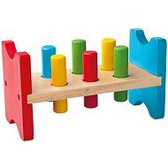 Didaktisches Spielzeug Woody Hammerspiel aus Holz - Didaktická hračka