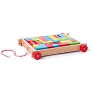 Didaktisches Spielzeug Woody LKW mit kleinen Würfeln - Didaktická hračka