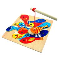 Didaktisches Spielzeug Geschicklichkeitsspiel Woody Angelspiel - Didaktická hračka