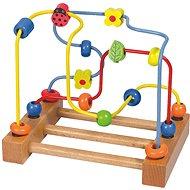 Taktisches Spielzeug Woody Big Motor Labyrinth - Marienkäfer - Didaktisches Spielzeug