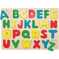 Woody Puzzle auf einem Brett - Alphabet - Puzzle