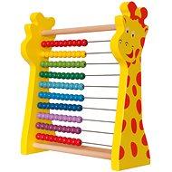 Woody Rainbow počítadlo - Bildungsspielzeug
