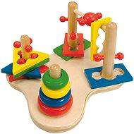 Didaktisches Spielzeug Didaktisches Lernspielzeug, Woody Motork 3D - Didaktická hračka