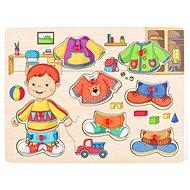 Woody Ankleidespiel - Sebastian - Didaktisches Spielzeug