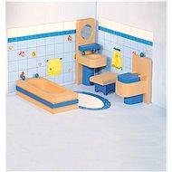 Woody Möbel fürs Puppenhaus - Badezimmer - Zubehör für Puppen