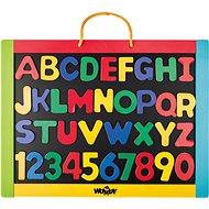 Woody Magnetická tabule s písmeny - Tafel