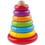 Woody Magnetische Pyramide - Spielzeug für die Kleinsten