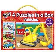 GALT 4 Puzzle in einer Box - Verkehrsmittel - Puzzle
