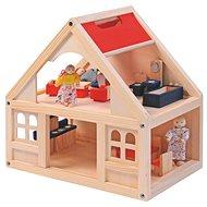 Woody Domeček pro panenky s příslušenstvím - Zubehör für Puppen