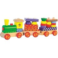 Woody Faltbarer Zug mit Licht - Eisenbahn