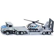 Siku Blister – Sattelschlepper mit Hubschrauber - Metall-Model