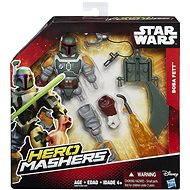 Star Wars Hero Mashers - Actionfigur Boba Fett Deluxe - Figur