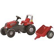 Rolly Toys Junior Trettraktor mit Anhänger - Trettraktor