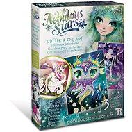Nebulous Stars - Glitzer- und Folienkunst - Malen für Kinder