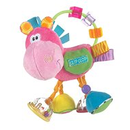 Playgro Rassel Esel rosa - Babyrassel