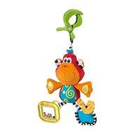Playgro Hängender Affe mit Clip - Hängendes Spielzeug