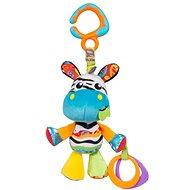 Playgro Hängendes Zebra mit Beißringen - Hängendes Spielzeug