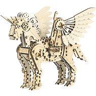 Mr. Playwood 3D Mecanical Unicorn Klein - Bausatz