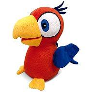 Micro Trading Papagei Charlie in einem Käfig - Interaktives Spielzeug