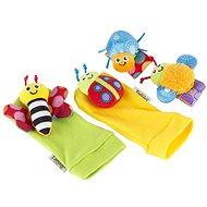 Lamaze - Rasselnde Socken und Armbänder - Stoffspielzeug