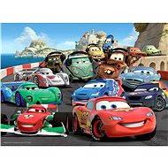 Ravensburger 106158 Disney Auta Výbušný automobilový závod - Puzzle