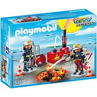 PLAYMOBIL® Brandeinsatz mit Löschpumpe - Baukasten