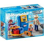 PLAYMOBIL® 5399 Familie am Check-In-Automaten - Baukasten
