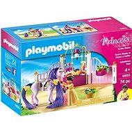 PLAYMOBIL® 6855 Königlicher Pferdestall - Baukasten