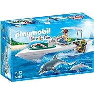 PLAYMOBIL® 6981 Tauchausflug mit Sportboot - Baukasten
